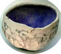 Burnished bowl