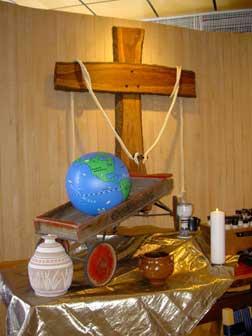 Epiphany altar