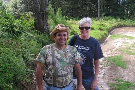 Juan and pilgrim