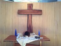 Altar installatin for Lent 2013