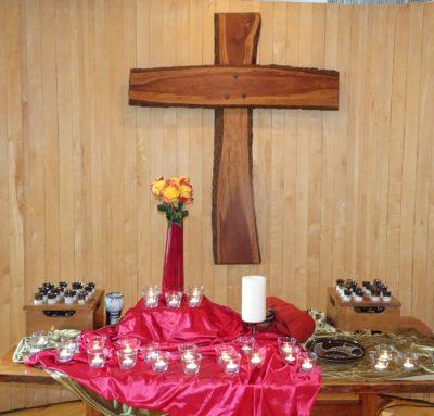 Pentecost altar